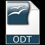 formato file odt