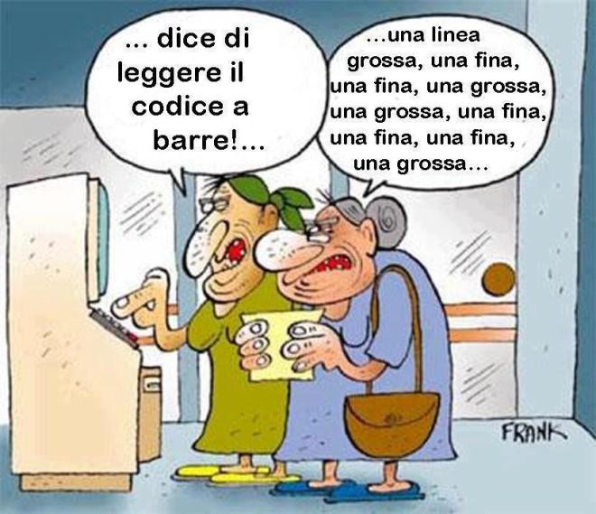 vignette umoristiche anziani
