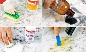 lucidare marmo prodotti naturali a basso costo