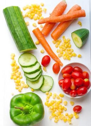 corretta alimentazione verdure