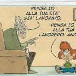 pensione previdenza complementare vignetta