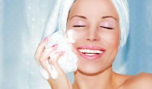 pulizia del viso - peeling