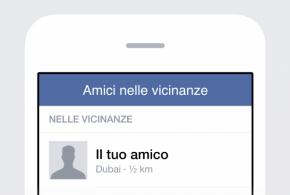 Facebook: come si attiva Amici nelle Vicinanze?