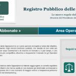 Il Registro Pubblico delle Opposizioni