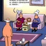 vignetta umoristica anziani